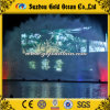 Lake Water Screen for Projector Fan Shape Water Movie
