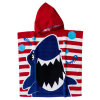 Cotton Printed Velour Bath Poncho Beach Poncho for Boy/Girl