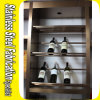 Stainless Steel Wine Display Shelf Rack Wine Rack