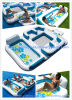 Inflatable Floating Island for Water Resting