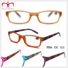 Ladies Plastic Reading Glasses with Stripe Pattern (WRP410304)