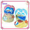 100% Handmade Polyresin Slipper Decoration for Beach Souvenirs