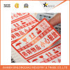 Decal Care Cautious Custom Warning Signs Paper Label Printing Sticker
