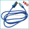 High Quality Metal Shell Micro USB Data Charging Cable for Mobile Phone
