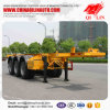2/3 Axles Skeleton Chassis Trailer for Contrainer Cargo