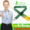 Hook Hanger Polyester Neck Strap Satin Lanyard as Business Gift