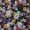 Oxford 600d High Density PVC/PU Flower Printing Polyester Fabric (XLT-FL)