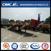 Cimc Huajun Rear-Tipping Skeleton Container Semi Traile