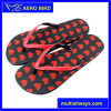 Double Color Straps PE Sole Flip Flop Girls Footwear