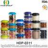 Popular Portable PP Plastic Protein Powder Box, BPA Free Plastic Pill Container (HDP-0311)