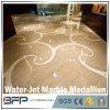 Marble Water Jet Medallion Natural Stone Mosaic Pattern for Lobby/Interior Flooring