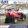 260m Depth Trailer Mounted Portable Water Well Drilling Rig
