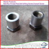 Copper Hex Long Nut DIN6334 Brass Coupling Nut