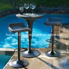 Dining Outdoor Furniture Rattan Table and Stool (FS-WBS002+ FS-WBS003)