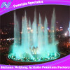 Circular Music Dancing Fountain with LED Colorful Lighting in Shopping Mall