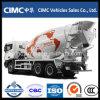 380HP 9-12cbm C&C 6X4 Concrete Mixer Truck