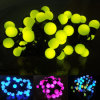 Waterproof LED Christmas Ball String Light with 17mm Bulb Size