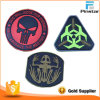 High Quality Garment Customize Soft PVC Rubber 3D Magic Tape Patch