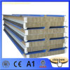 Construction Material Wall Rock Wool Sandwich Panel Price