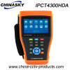IP, Ahd, Tvi and Cvi Cameras Poe CCTV Tester (IPCT4300HDA)