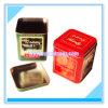 Small Square Tin Box for Tea