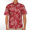 Hawaii Style100%Cotton Casual Short Sleeves Men's Shirt (WXM006)