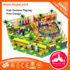 Customized Children Indoor Playground Maze Big Slides