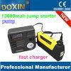 16800mAh LCD Air Pump Hammer Car Jump Starter with USB