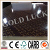9mm Film Faced Plywood with Gold Luck