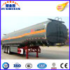 3 Axles 18cbm Sulfuric Acid Transport Tanker Semi Trailer