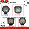 Round Square 15W, 18W, 27W LED Work Light for Truck Offroad Vehicle