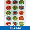 Fashionable Patterns Beautiful Design Cheap Price Custom Holographic Epoxy Sticker