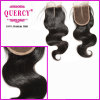 Body Wave Cambodian Hair Silk Top Lace Closures with High Quality