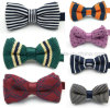 Custom Hot Sale Fashion Knitted Party Bowtie Bow Tie