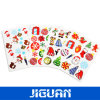 Custom Christmas Promotional Color Decorative Glitter Sticker
