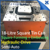 Tailor Made 18L 5-Gallon Steel Square Pail Can Making Forming Combination