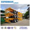 40FT China Skeleton Container Transport Semi Trailer