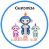 2017 New Electric Pet Interactive Baby Toy Fingerlings Puppet Monkey