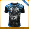Custom Mens 3D Printing T Shirt