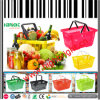 Supermarket Hand Shopping Basket with Double Handles