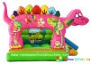 Inflatable Pink Dinosaur Bouncer, Inflatable Cute Bouncer (RB1035)