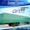 2 Axle Cargo Box Semi Trailer, Van Semi Truck Trailer
