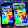 S5 Dual Core 5 Inch Mtk6572 2g GSM 4D Airgesture Best Android Phone Cell Phone