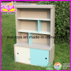 Best Seller Children Furniture Wooden Bookcase, for Age 3+ (W08D013)