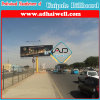 Double Side Outdoor Column Galvanized Steel Structure Advertising Billboard (W18 X H6)