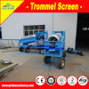 Alluvial Small Mobile Gold Mining Equipment, Mobile Gold Recovery Plant with Diesel Engine for Mineral Processing Plant