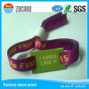Custom Polyester Woven Wristaband for Event