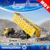 Tri-Axles 50-80tons Side Dump Tipper Semi Trailer, 2 or 3 Axles Tipper Cargo Truck Trailer Sand Rock Coal Transport