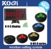 Hot Sale and High Quality Waiter Call Buzzer System