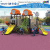 Kindergarten Outdoor Playground Plastic Slide Equipment HD-007A